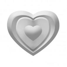Дырокол с тиснением Сердце