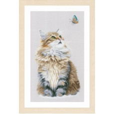 Набор для вышивания Forest cat