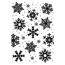 Папка для эмбоссирования Снежинки