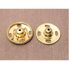 Кнопки пришивные металлические с защитой от коррозии