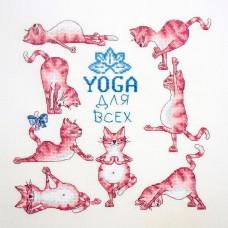 Набор для вышивания Йога для всех