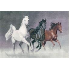 Набор для вышивания Дикие кони