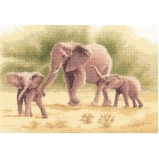 Набор для вышивания Слоны