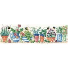 Набор для вышивания Сад с травами