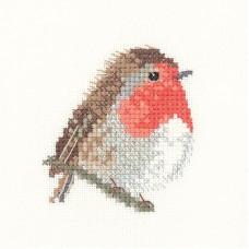 Набор для вышивания Птичка зарянка