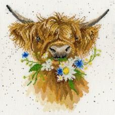 Набор для вышивания Daisy Coo (Бычок с ромашкой)