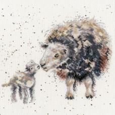 Набор для вышивания Ewe And Me (Мы с овечкой)