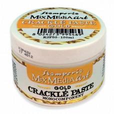 Паста для создания трещин, моно-компонент Crackle Paste, серия Mix Media