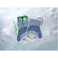 Набор для вышивания Варежки Снеговика