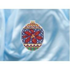 Набор для вышивания бисером Рождественский цветок