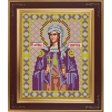 Набор для вышивания бисером Икона Святая преподобная Светлана (Фотиния) Палестинская