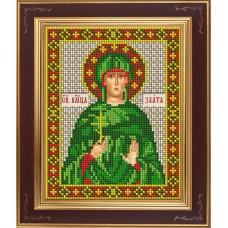 Набор для вышивания бисером Икона Святая великомученица Злата