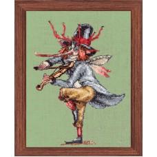 Набор для вышивания Le Gallois du Tylwith (Музыкант из оркестра -Валлийская фея)