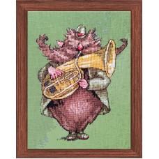 Набор для вышивания Le Brownie des Highlands (Музыкант из оркестра - Домовой гор Шотландии)