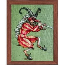 Набор для вышивания Le Faune de Mac?doine (Музыкант из оркестра - Фауна Македонии)