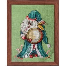 Набор для вышивания Le Jultomte de Su?de (Музыкант из оркестра - Шведский Санта)
