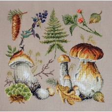 Набор для вышивания Белые грибы