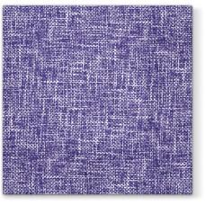 Салфетки трехслойные для декупажа, коллекция Lunch PAWDecorCollection Фиолетовый лен