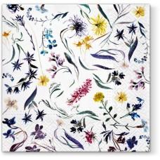 Салфетки трехслойные для декупажа, коллекция Lunch PAWDecorCollection Память цветов
