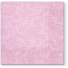 Салфетки трехслойные для декупажа, коллекция Lunch PAWDecorCollection Розовое полотно