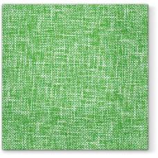Салфетки трехслойные для декупажа, коллекция Lunch PAWDecorCollection Зеленое полотно