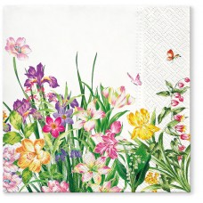 Салфетки трехслойные для декупажа, коллекция Lunch TETЕaTETE Сила Весны