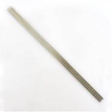 Спицы, чулочные из никелированной стали, №1,75, 20 см. 5 шт