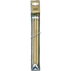 Спицы чулочные, бамбук, №7, 20 см. 5 шт на блистере
