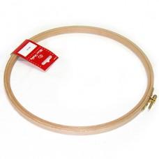Пяльцы круглые, высота обода 12 мм, диаметр 30,5 см