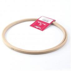 Пяльцы круглые без замка, высота обода 8 мм, диаметр 21,5 см