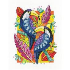 Набор для вышивания Туканы