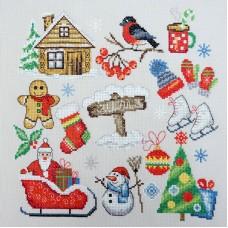 Набор для вышивания Зима