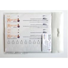 Набор планшеток для мулине с каплевидными прорезями