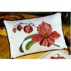 Набор для вышивания,подушка Орхидея