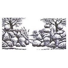 Набор для вышивания Парковый  ландшафт(графика)