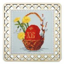 Набор для вышивания Символ Пасхи с пришивной рамкой
