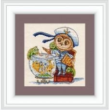 Набор для вышивания Совиный гороскоп Рыбки