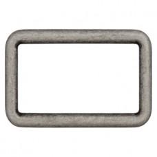 Прямоугольник металлический, 20 мм