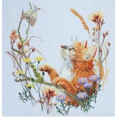 Набор для вышивания Пушистый охотник