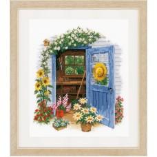 Набор для вышивания Сарай в саду