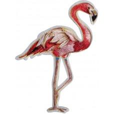 Термоаппликация Фламинго