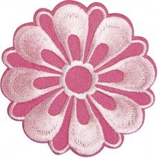Термоаппликация Розовый цветок
