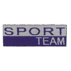 Термоаппликация Спортивная команда