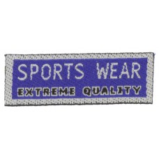 Термоаппликация Спортивная одежда