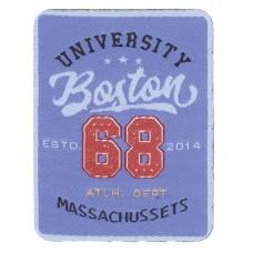 Термоаппликация Университет Бостон 68