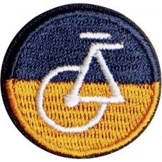 Термоаппликация Оранжевый велосипед