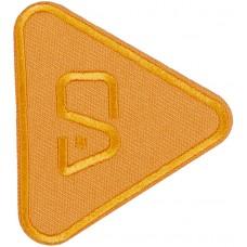 Термоаппликация Треугольник (оранжевый)