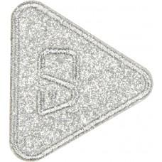 Термоаппликация Треугольник (блестящий)