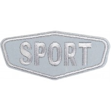 Термоаппликация Спорт (светоотражающий)