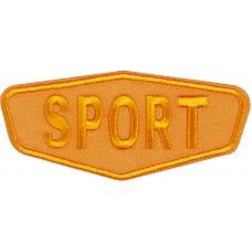 Термоаппликация Спорт (оранжевый)